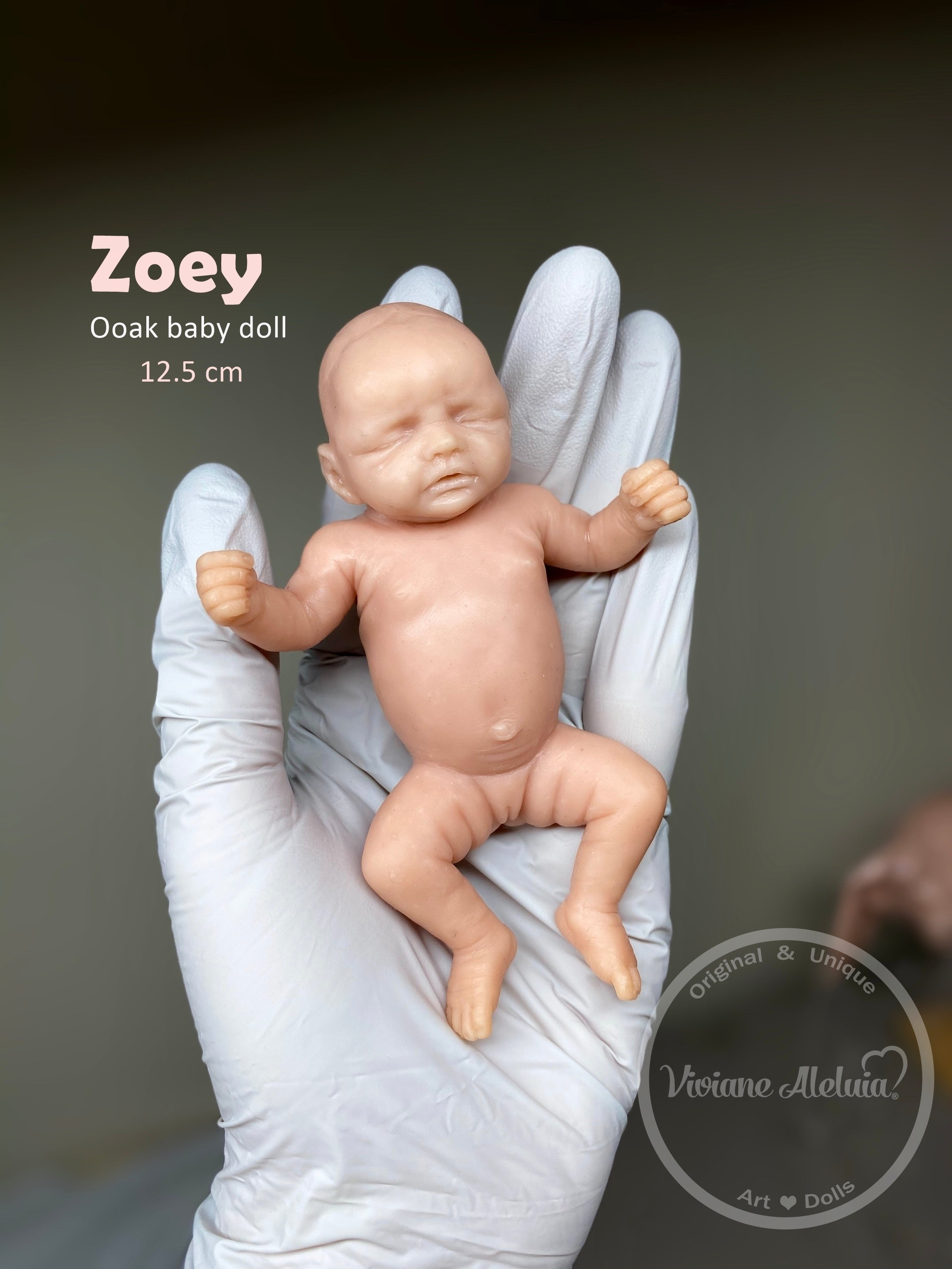Zoey Full Body Mini Silicone Baby *COMING SOON*