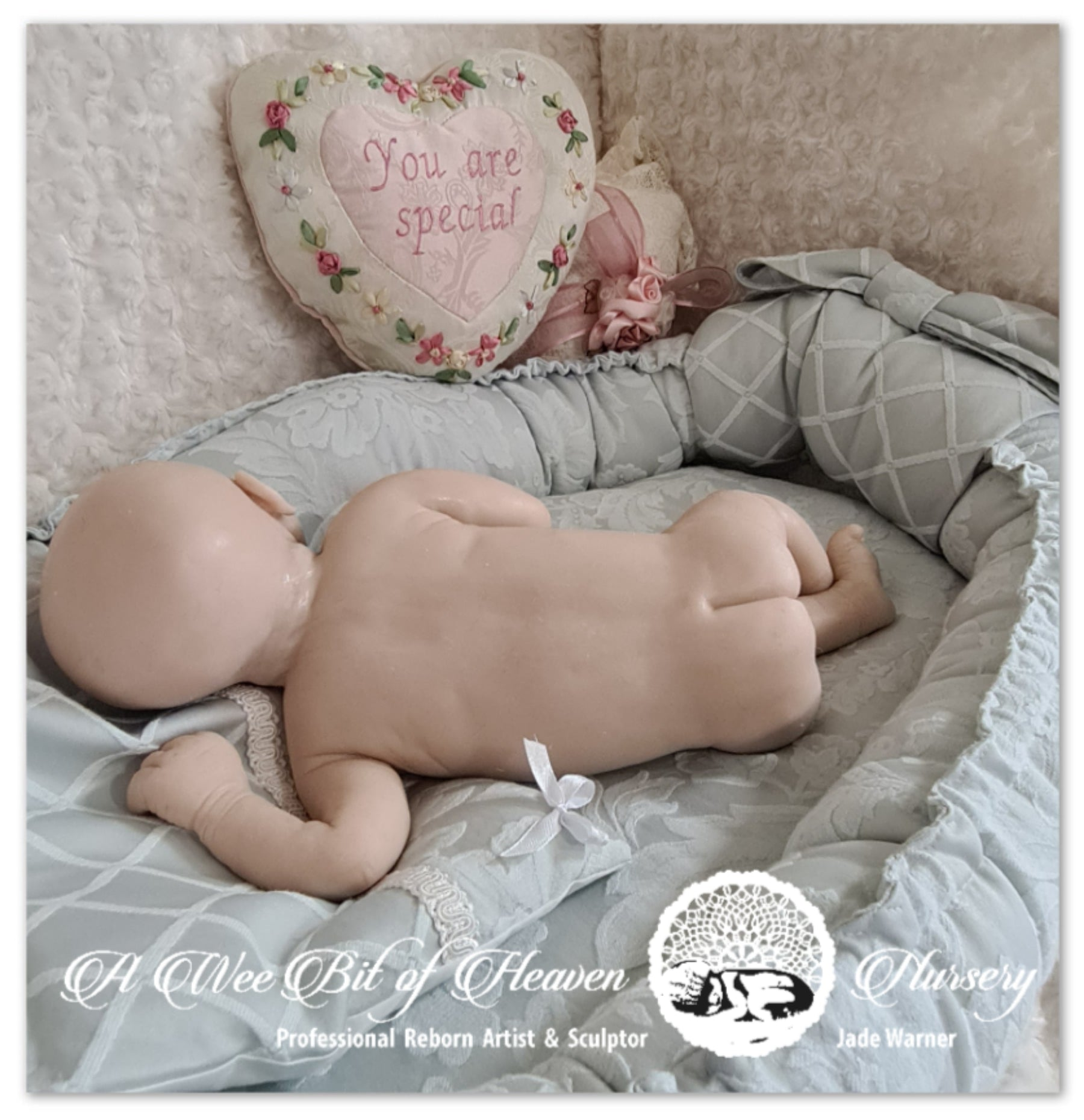Jasmine and Jayce Full Body Silicone Baby *SOLD OUT*