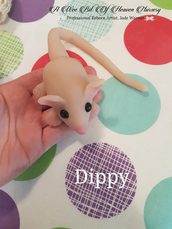 Dippy Silicone Baby Mouse
