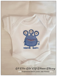 Alien Onesie Colour-White #4