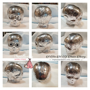 "Skull Armature makes 18 -20""  Baby  By Jade Warner & Lisa Sylvia"