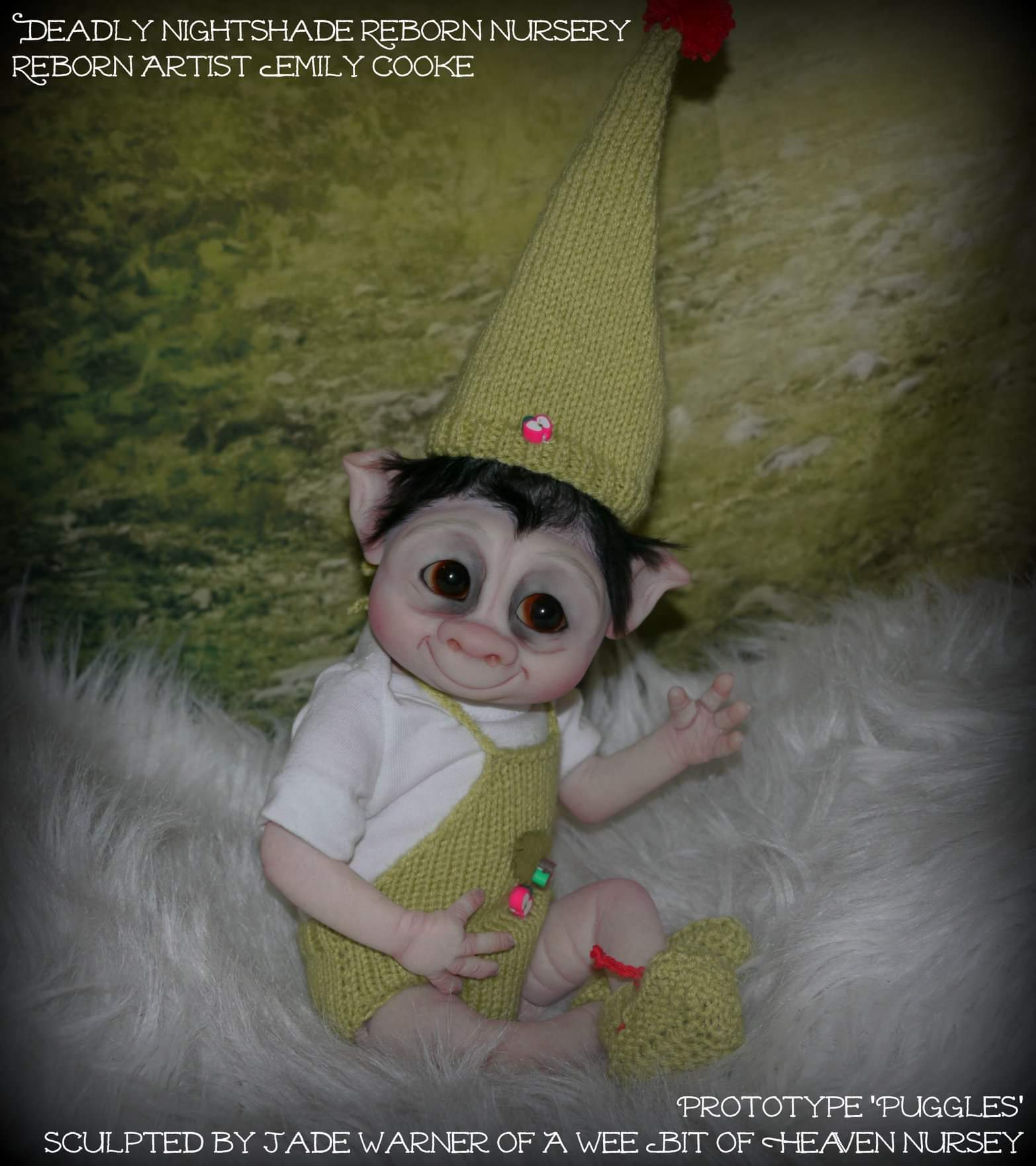 Puggles Baby Garden Gnome/Goblin -Pay in Full-