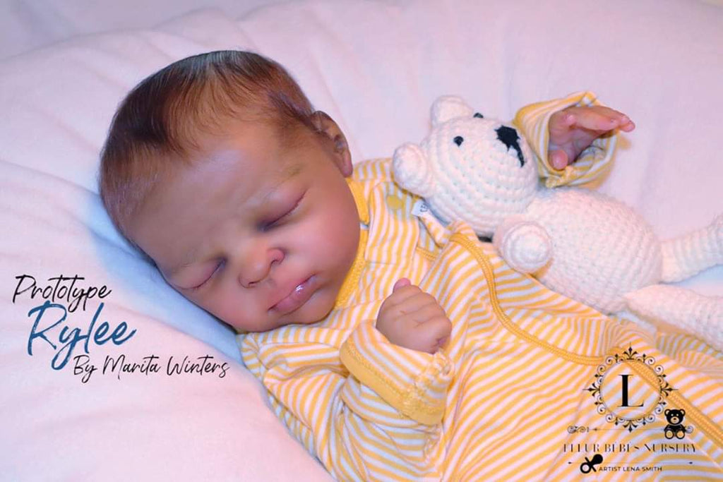 Rylee Reborn Vinyl Doll Kit by Marita Winters
