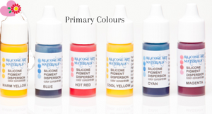 Primary Colours Silicone Pigment Kit – 6 Colours