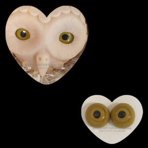 Clay/Resin size 18mm #3 Olive Owl
