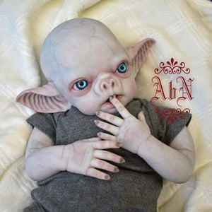 Vlad the Vampire Baby Sculpted by Noemi Smith  (Angles by Noemi)