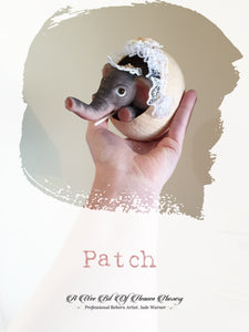 Patch Mini Baby Silicone  Elephant -Complete-