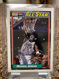 Michael Jordan Topps 1991-92 All-Star Card #115 - Mint Condition