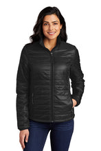Load image into Gallery viewer, Port Authority® Ladies Packable Puffy Jacket