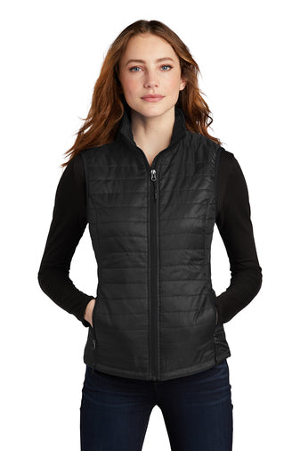 Port Authority® Ladies Packable Puffy Vest