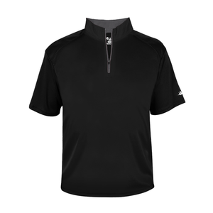 Badger - B-Core Youth Short Sleeve 1/4 Zip Tee