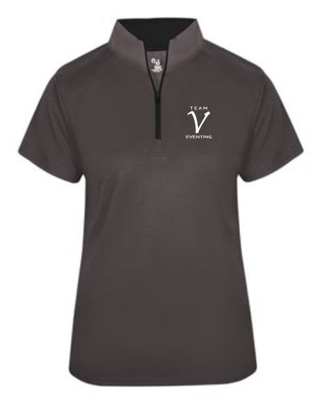 TVE Badger B-Core 1/4 Zip - Short Sleeve