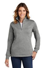 Load image into Gallery viewer, Lancaster Equestrian Sport-Tek® Ladies 1/4-Zip Sweatshirt