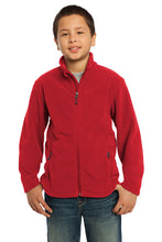 Load image into Gallery viewer, Port Authority® Youth Value Fleece Jacket