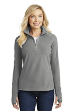 Load image into Gallery viewer, Lancaster Equestrian Port Authority® Ladies Microfleece 1/2-Zip Pullover