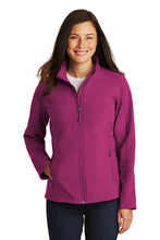 Load image into Gallery viewer, Port Authority® Ladies Core Soft Shell Jacket