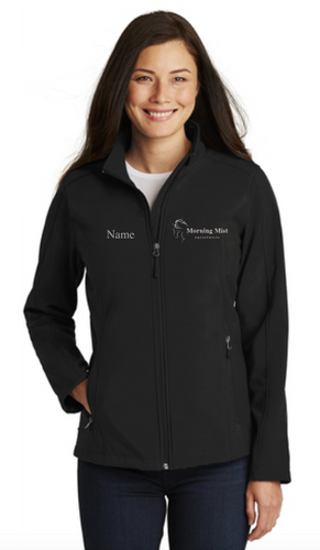 Morning Mist Equestrians Port Authority ® Core Soft Shell Jacket