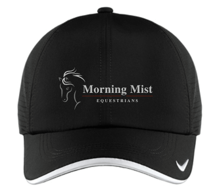 Morning Mist Equestrians Nike Dri-FIT Swoosh Perforated Cap