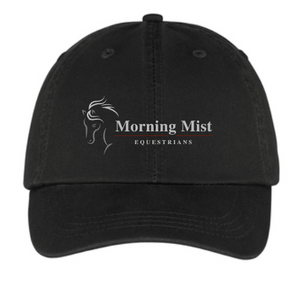 Morning Mist Equestrians Classic Unstructured Baseball Cap