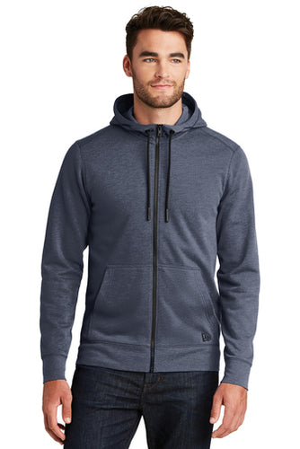 New Era® Tri-Blend Fleece Full-Zip Hoodie