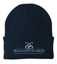 "Load image into Gallery viewer, Skillman Stables Sportsman - 12"" Knit Beanie"