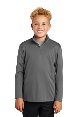 Sport-Tek® Youth PosiCharge® Competitor™ 1/4-Zip Pullover
