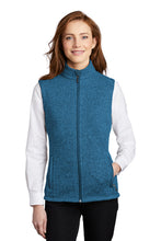 Load image into Gallery viewer, Port Authority ® Ladies Sweater Fleece Vest