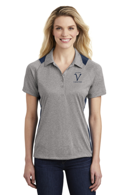 TVE Sport-Tek® Colorblock Micropique Sport-Wick® Polo