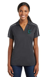 TCE Sport-Tek® Ladies Micropique Sport-Wick® Piped Polo