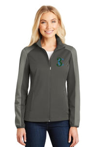 TCE Port Authority® Ladies Active Colorblock Soft Shell Jacket