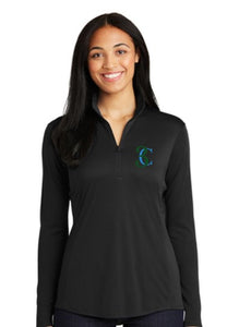 TCE Sport-Tek® Ladies PosiCharge® Competitor™ 1/4-Zip Pullover