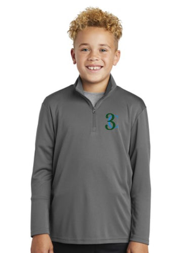 TCE Sport-Tek® Youth PosiCharge® Competitor™ 1/4-Zip Pullover
