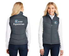 Load image into Gallery viewer, Kyzer Equestrian Port Authority® Ladies Puffy Vest