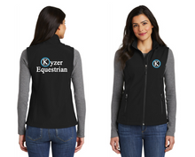 Load image into Gallery viewer, Kyzer Equestrian Port Authority® Core Soft Shell Vest