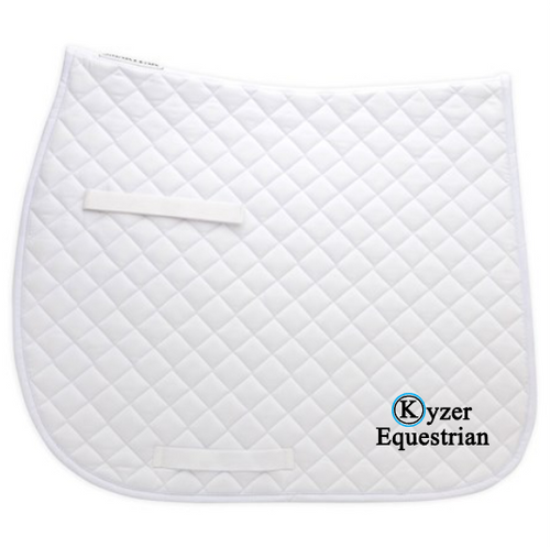 Kyzer Equestrian Dressage Saddle Pad