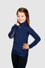 Load image into Gallery viewer, EIS Children's Solid Navy COOL Shirt ®