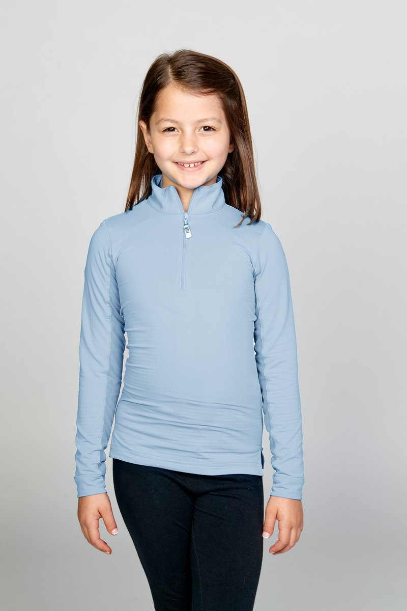 EIS Children's Solid Powder Blue COOL Shirt ®
