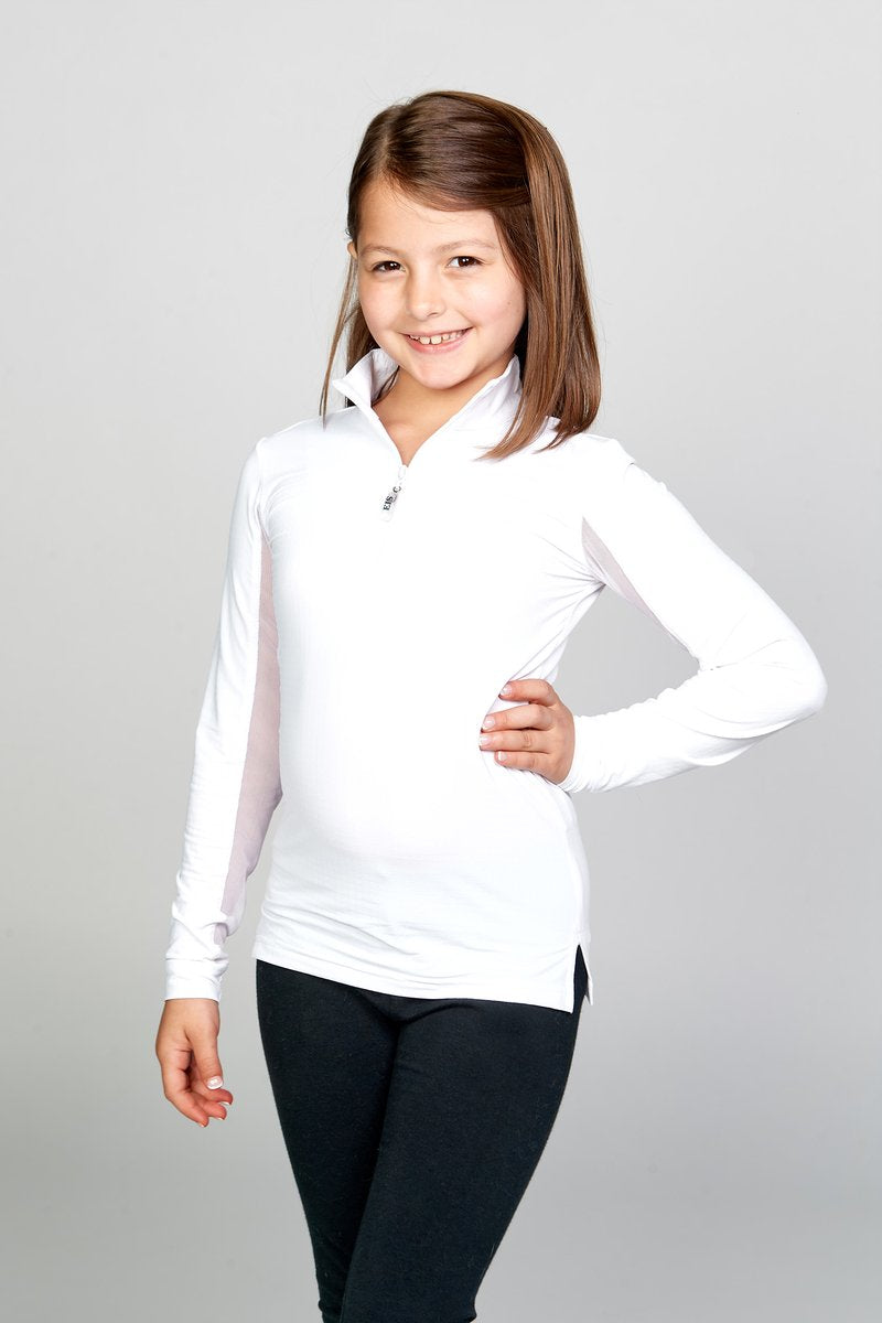 EIS Children's Solid White COOL Shirt ®