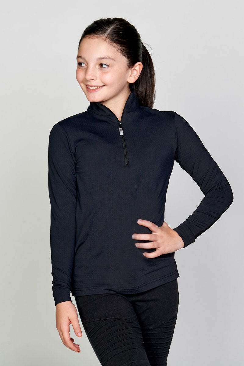 EIS Youth Solid Black COOL Shirt ®