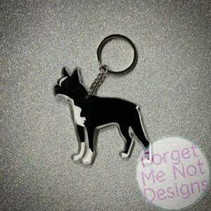 Dog Breed Keychain