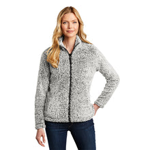 Load image into Gallery viewer, Port Authority® Ladies Cozy Fleece Sherpa Jacket