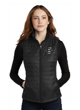 Load image into Gallery viewer, Benchmark Equestrian Port Authority® Ladies Packable Puffy Vest