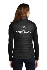 Benchmark Equestrian Port Authority® Ladies Packable Puffy Vest