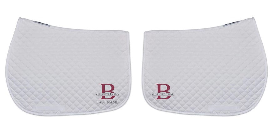 Burnett Farm Saddle Pad