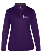 Load image into Gallery viewer, Dynamic Equestrian Badger B-Core Women's 1/4 Zip
