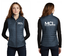 Load image into Gallery viewer, MCL Equestrian Port Authority® Packable Puffy Vest