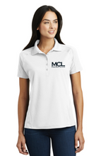Load image into Gallery viewer, MCL Equestrian Sport-Tek® Dri-Mesh® Pro Polo