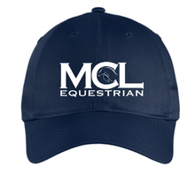 Load image into Gallery viewer, MCL Equestrian Classic Unstructured Baseball Cap