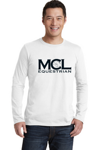 MCL Equestrian Gildan Softstyle® Long Sleeve T-Shirt - Screen Printed