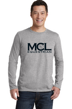 Load image into Gallery viewer, MCL Equestrian Gildan Softstyle® Long Sleeve T-Shirt - Screen Printed